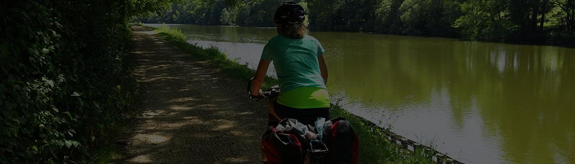 Se déplacer à vélo dans Parc du Lac