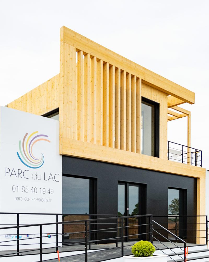 La maison des projets de Parc du Lac